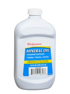 Mineral Oil - This all-natural substance can be used to give all your furniture a good shine; use it straight, or add a few drops of essential oil or lemon juice to add a pleasant scent. You can also use mineral oil to rehydrate wooden cutting boards and prevent splits and cracks, which can harbor dangerous bacteria. Simply use a clean cloth to rub the oil into the board, working in the direction of the grain; let it absorb for several minutes, then wipe off excess oil with a clean, dry cloth.
