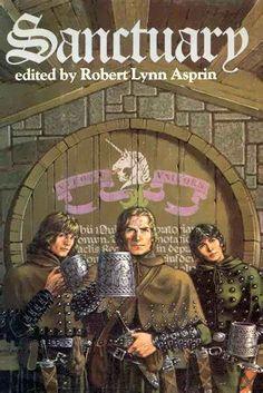 Robert Lynn Asprin Myth Adventures Sanctuary Hardcover Books For Sale Cool Books, Sci Fi Books, My Books, Reading Books, Reading Wall, Fantasy Book Covers, Fantasy Books, Fantasy Art, Fantasy Characters