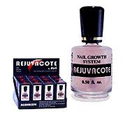 Rejuvacote X3 by Duri Cosmetics. $27.95. No more cracked nails. Heals and cures damaged, peeling nails. Heals acrylic damaged nails. Rejuvacote will heal and cure your split cracked and acrylic eaten nails. In a few weeks you will enjoy the look and f eel of strong, natural nails.  Brand New Fresh Bottle. Just arrive!  Directions:  Begin with clean dry nails.  Apply one coat of Rejuvacote as base coat.  Apply nail color if desired.  Apply Rejuvacote as top coat, ...