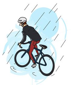 ##Cycling in the rain - tips Like, Repin, Share, Follow Me! Thanks!