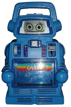Casey Robot played tapes with books, 1980's