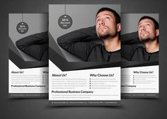 Corporate Business Flyer Template by AfzaalGraphics on @creativemarket