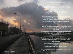 Los heraldos negros - Cesar Vallejo.