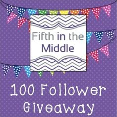 Fifth in the Middle: 100+ Follower Giveaway!