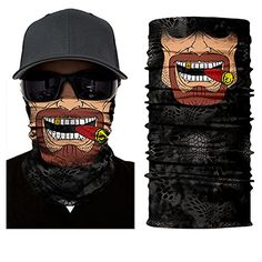 New Female male Neck Warmer cycling Ghost Face Mask scarf Winter bonnet Scarf Motorcycle Skull Beanie Balaclava skiing Halloween. Crane, Bandeau Bandana, Head Bandana, Bandana Scarf, Fish Mask, Masque Halloween, Do Rag, Running Headbands, Bmx