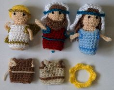 Ravelry: Bible character finger puppets pattern by Amy Dawson
