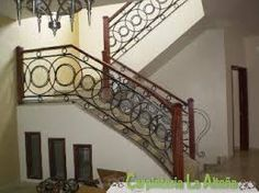 resultado de imagen para barandales para escaleras deherreria modernos