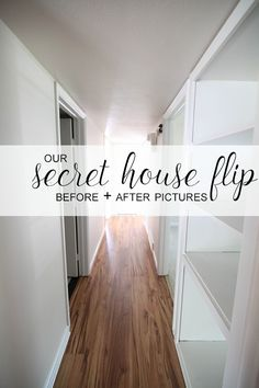 This house flip turned out so pretty.  I love looking at house tours and before and after pictures!