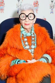 Here, our tips to be healthy, beautiful, and fabulous till age 100! We're all trying to be a little bit more like Iris Apfel