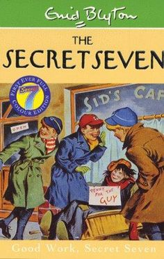 First published in 'The Secret Seven' is the first in a series of fifteen adventure books about the 'Secret Seven' child detectives by Enid Blyton. I still have the full set of originals in mint condition. these books set me on the road to reading! 1970s Childhood, My Childhood Memories, Childhood Toys, Nice Memories, Forever Memories, The Secret Seven, Good Books, My Books, Enid Blyton Books