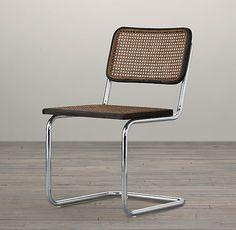 """Esta silla grita """"Banco Pastor"""" y no me parece mal.  Marcel Breuer's iconic 1928 Cesca Chair"""