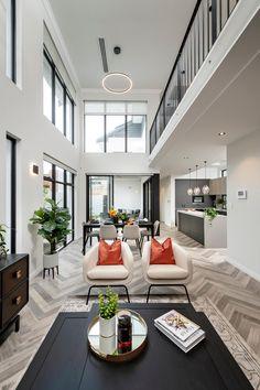 Living Room Grey, Living Room Modern, Living Room Interior, Living Room Designs, Living Area, Dream Home Design, Home Interior Design, House Design, Interior Ideas