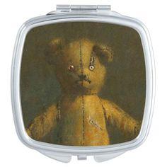 Teddy Bear Compact Mirror
