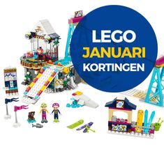 Veel Bouwplezier zet alle LEGO aanbiedingen januari 2018 voor je op rijtje. Zo heb je altijd de leukste sets voor de laagste prijs!
