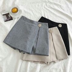 2018 Women Mini Skirts High Waist Harajuku Cute Sweet Skirts Pleated Vintageliilgal - Her Crochet Teen Fashion Outfits, Girl Fashion, Casual Outfits, Fashion Dresses, Cute Outfits, Elise Fashion, Dresses Kids Girl, Cute Dresses, Jugend Mode Outfits