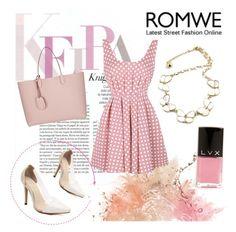 """ROMWE 1 (III)"" by lejlamoranjkic ❤ liked on Polyvore"