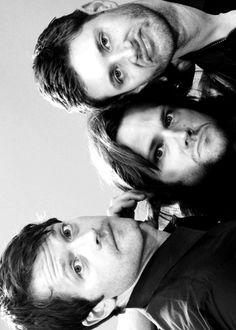 Misha Collins, Jared Padalecki, and Jensen Ackles #supernatural #spn