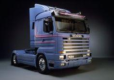 1988 Scania R113M 4x2 Streamline semi tractor f wallpaper