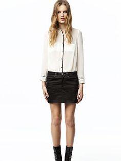 Wholesale fashion blouse with new chiffon style  $ 10.3