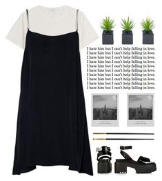 """Mixed Emotions"" by natura-umana ❤ liked on Polyvore featuring Thierry Mugler, Topshop, Versace and Meggie"