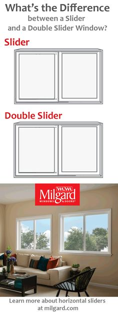 View The Pin To See Difference Between A Horizontal Slider And Double