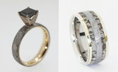 Read: Wedding Rings Made Of Dinosaur Bone, Meteorite And Deer Antler