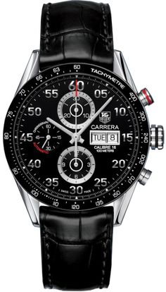 CV2A10.FC6235   NEW TAG HEUER CARRERA DAY DATE MENS WATCH  IN STOCK   - FREE Overnight Shipping | Lowest Price Guaranteed    - NO SALES TAX (Outside California)- WITH MANUFACTURER SERIAL NUMBERS- Black Dial- Chronograph Feature - Day