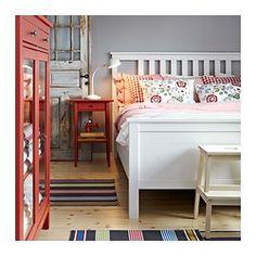 HEMNES Comodino - rosso - IKEA