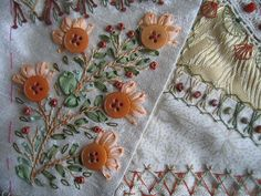 crazy quilting detail. | Flickr - Photo Sharing!