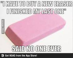 Funny pictures about I should buy a new eraser. Oh, and cool pics about I should buy a new eraser. Also, I should buy a new eraser. Funny Quotes, Funny Memes, Jokes, Ever Quote, Tastefully Offensive, Everything Funny, Funny Pins, Funny Stuff, Awesome Stuff