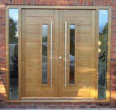 New Main Entrance Door Design 36 Ideas Modern Entrance Door, Main Entrance Door Design, Wooden Front Door Design, Double Door Design, Modern Front Door, Double Front Doors, Entrance Doors, House Entrance, Double Garage