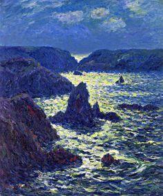 Henri Moret - Rocks at Goulphar