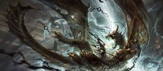Artist: Raymond Swanland  Some pretty awesome art by one of my favorite Magic the Gathering artists.