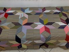 Quilt: Could be repurposed clothing