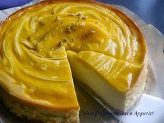 Gotuj zdrowo!Guten Appetit!: Sernik z mango i mlekiem kokosowym-znakomity