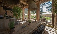The Pig at Combe Hotel is a masterclass in Rustic-luxe living. Rustic Luxe, Rustic Style, Devon Hotels, Pig Restaurant, The Pig Hotel, Country House Hotels, Country Hotel, Hotel Bed, Cool Countries