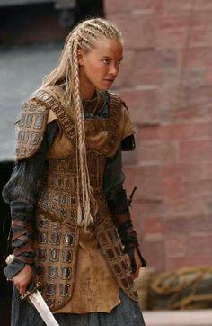 PWarrior woman. practical armor