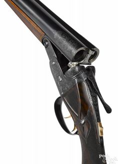 Parker AAH grade side by side shotgun, 12 gauge, with double triggers and ejectors - Price Estimate: $20000 - $30000