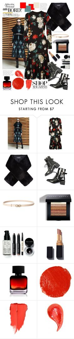 """""""bold move"""" by felicitysparks ❤ liked on Polyvore featuring Dolce&Gabbana, Harrods, Salvatore Ferragamo, Bobbi Brown Cosmetics, The Collection by Phuong Dang and Hourglass Cosmetics"""