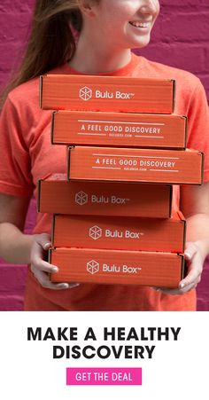Wanting to try Bulu Box? Receive monthly boxes full of healthy discoveries to help you reach your health and fitness goals! Start your subscription today with promo code YESWAY for just $5 a month (regular $10/month) - Pause/cancel anytime!