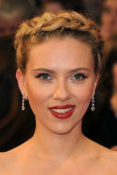 Scarlett Johansson's braided updo photo