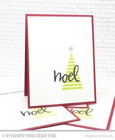 MFT A Very Crafty Holiday - Holiday Cards