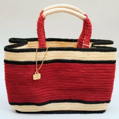 Border Purse - Crocheted out of fishing line by women in India, this purse is not only beautiful, but durable as well! Fair Trade.