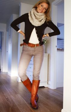 Casual with boots