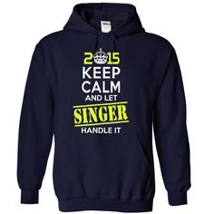 SINGER  - This Is YOUR Year T SHIRT