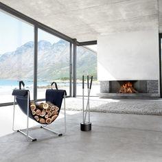 Range-bûches Madra - Blomus Design - Marie Claire Maison