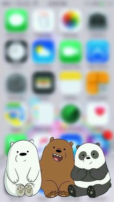 We Bare Bears Iphone Wallpaper Phone Allpaper Mobile Wallpaper, Pin By Inked Soul On Wallpapers In 2019 We Bare Bears -- -- Cartoon Wallpaper Iphone, Disney Phone Wallpaper, Bear Wallpaper, Tumblr Wallpaper, Galaxy Wallpaper, Aesthetic Iphone Wallpaper, Screen Wallpaper, Aesthetic Wallpapers, Wallpaper Backgrounds