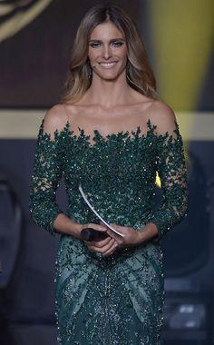 Joias usadas por Fernanda Lima no Bola de Ouro totalizam quase R$ 100 mil