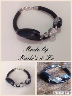 Handmade armband met mooie kralen. #DIY