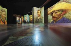 The Amazing Van Gogh Alive Exhibition Zurich. A multi sensory exhibition at the MAAG Halle in Zurich with projections of Van Gogh's paintings Moma, Vincent Van Gogh, Halle, Van Gogh Paintings, Just For Men, Zurich, Classical Music, Switzerland, Museum